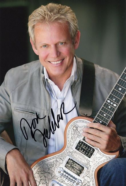 Don Felder, The Eagles, signed 12x8 inch photo.